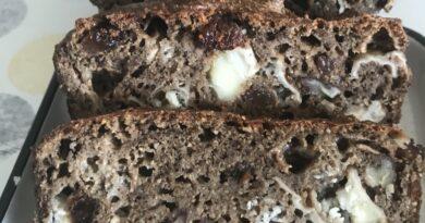 cake chèvre noix raisin