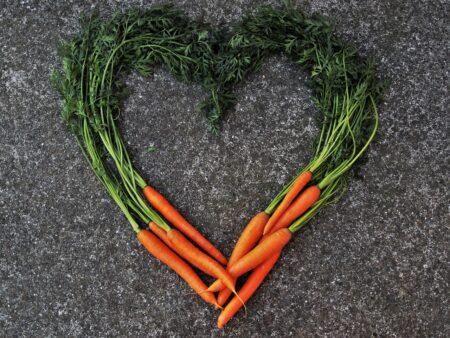 coeur en carottes