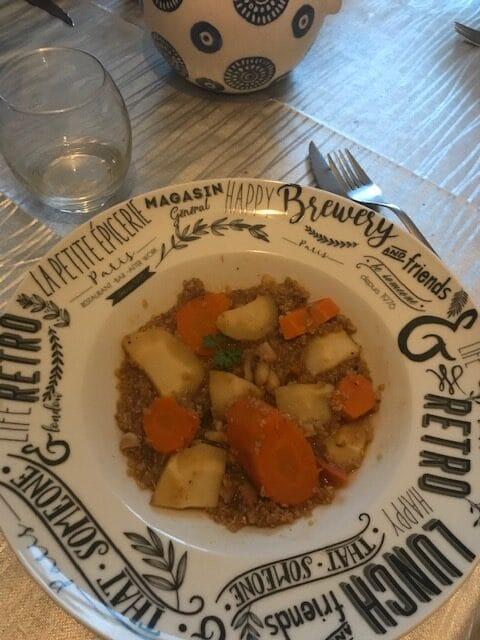 One pot quinoa, carottes et panais