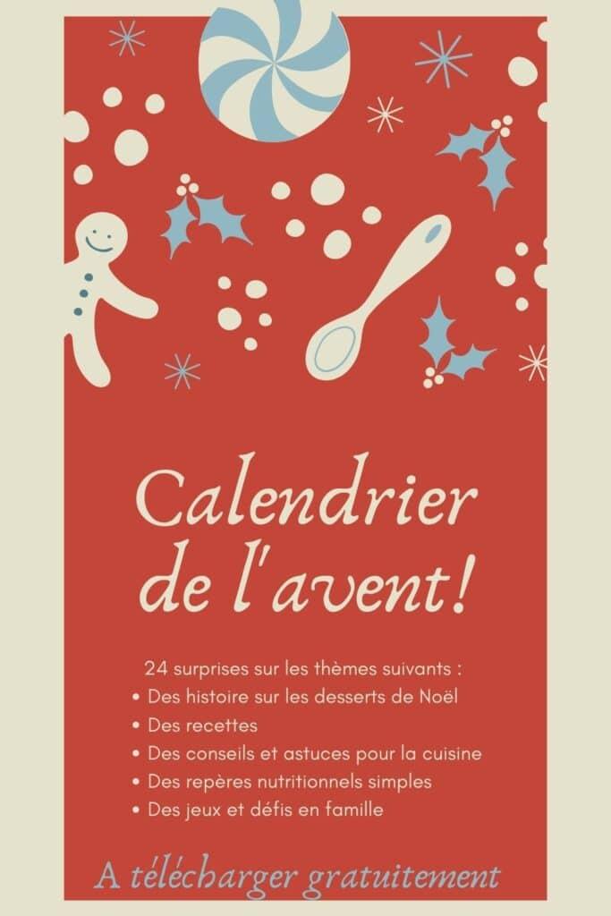calendrier de l'avent pour attendre Noël