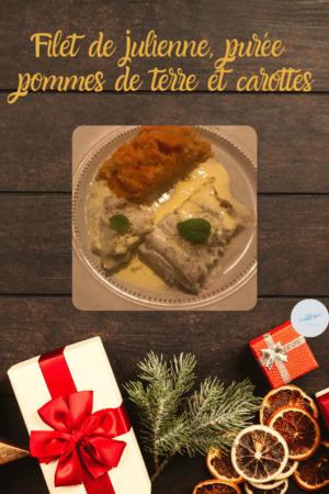 julienne et purée de pommes de terre carottes