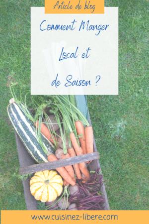 Comment manger local et de saison ?