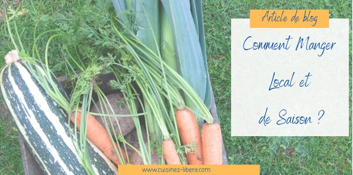 Comment manger local et de saison ? Ma réponse : le panier de légumes