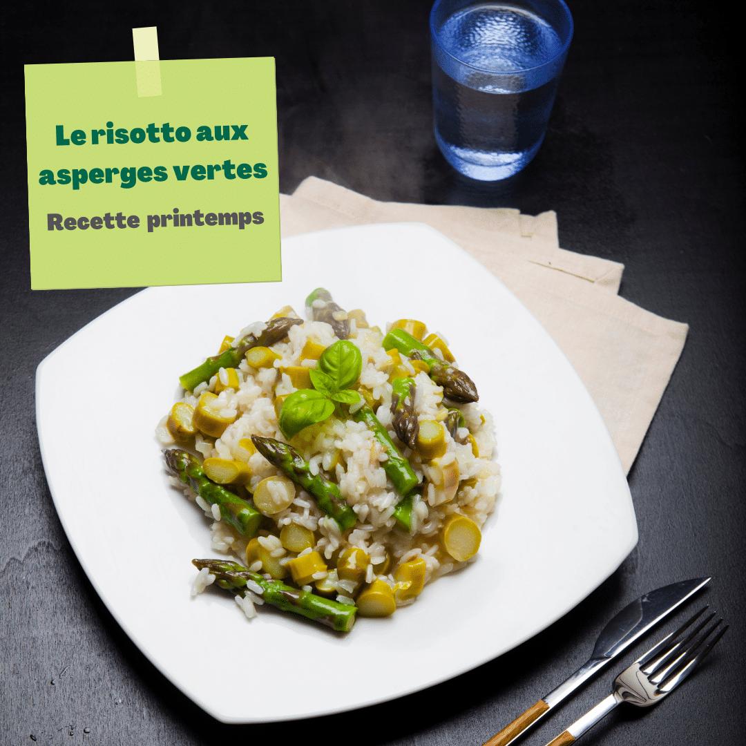 4 saisons du risotto : le printemps