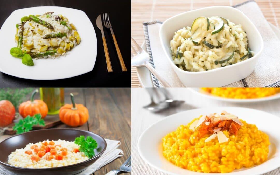 Les 4 saisons du risotto en recette