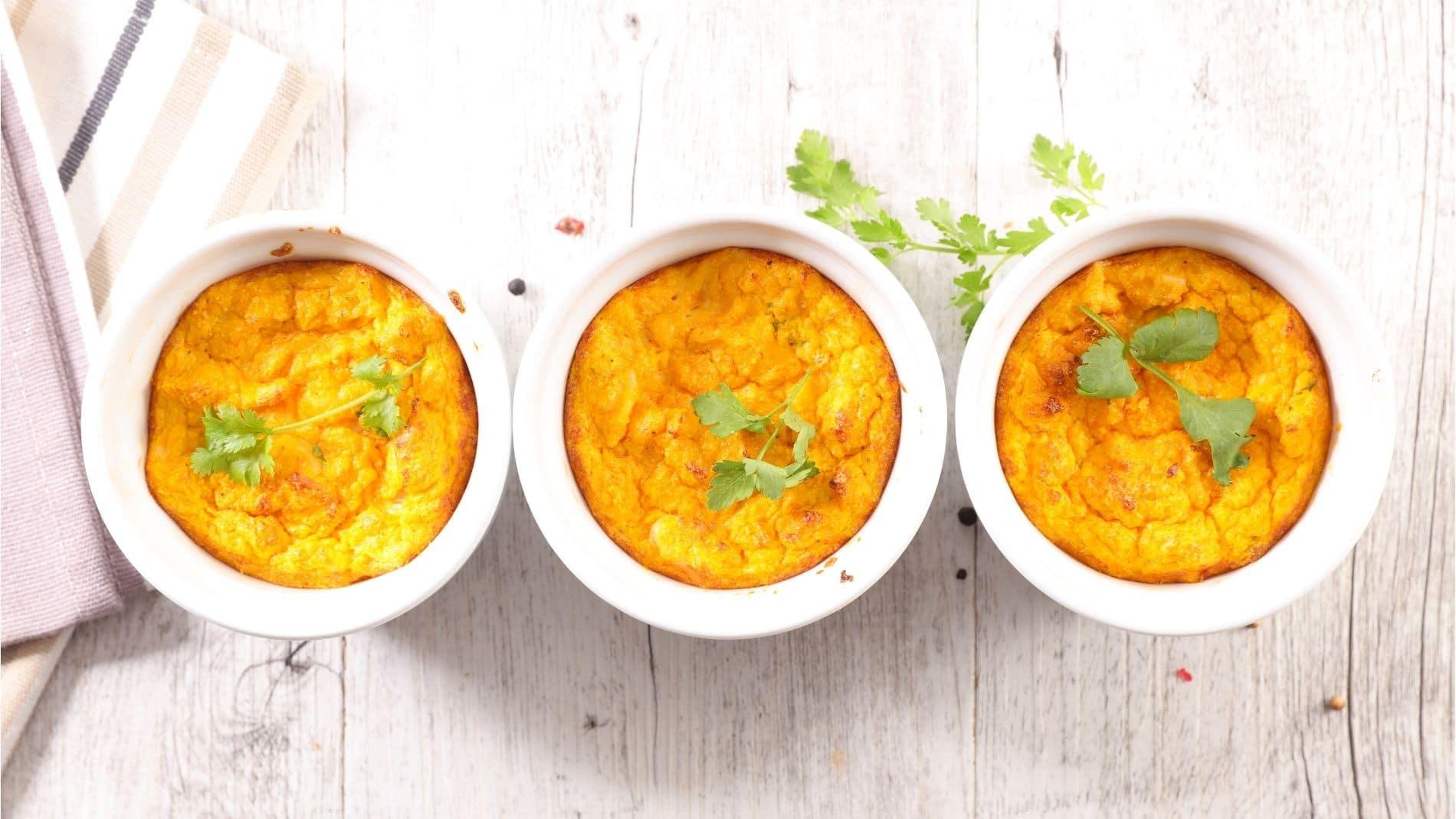 Flan de carottes et fenouil au curry